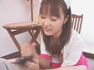 Exotic Japanese slut Natsumi Yoshioka in Hottest Maid, Teens JAV scene