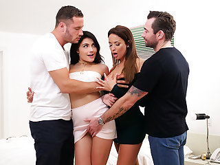 Adria Rae in Thanksgiving Family Fuckfest - SpyFam